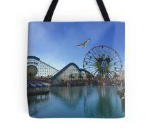 California Adventures: Paradise Pier  Tote Bag