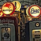 Antique Gas Pumps by Jacqueline Wilson