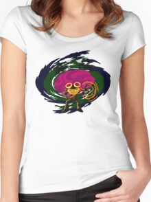 Brain Power Women's Fitted Scoop T-Shirt