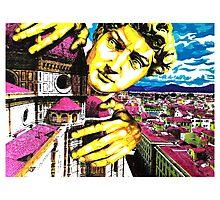 Curious David (Highlighter) Photographic Print