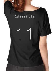 Matt Smith 11th Doctor Jersey Women's Relaxed Fit T-Shirt