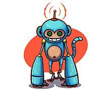 Monkey! Photographic Print