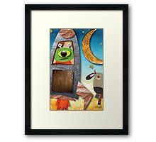 1988 Moon Jump Framed Print