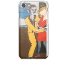 Beatnick scene iPhone Case/Skin