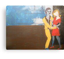 Beatnick scene Canvas Print