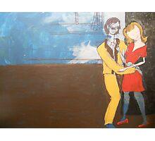 Beatnick scene Photographic Print
