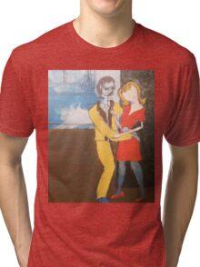 Beatnick scene Tri-blend T-Shirt