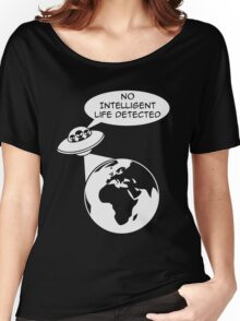 UFO: No Intelligent Life Detected (Europe)  Women's Relaxed Fit T-Shirt