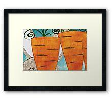 Carrots II Framed Print