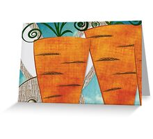 Carrots II Greeting Card