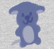 Blue Pup [ Kids T-Shirt ] One Piece - Long Sleeve