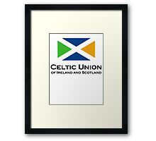 Celtic Union Framed Print