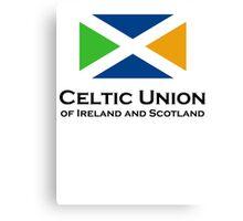 Celtic Union Canvas Print