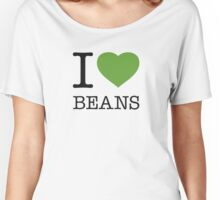 I ♥ BEANS Women's Relaxed Fit T-Shirt