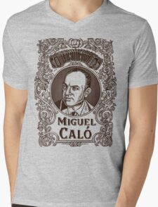 Miguel Caló (in brown) Mens V-Neck T-Shirt