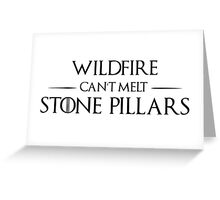 Wildfire Conspiracy Greeting Card