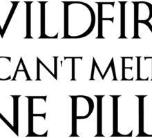 Wildfire Conspiracy Sticker