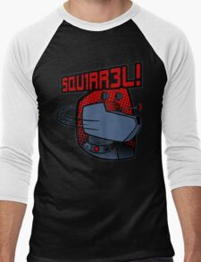 SQUIRREL!  Men's Baseball ¾ T-Shirt