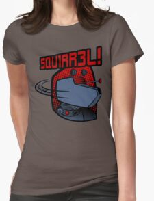 SQUIRREL!  Womens Fitted T-Shirt