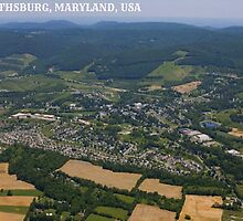 Aerial Shot of Smithsburg, Maryland by sophiemancini