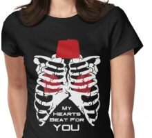 My Hearts Beat For You - 11th Dr Womens Fitted T-Shirt