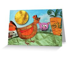 Goldie Greeting Card