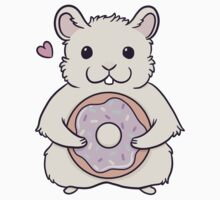 Donut Hamster One Piece - Short Sleeve