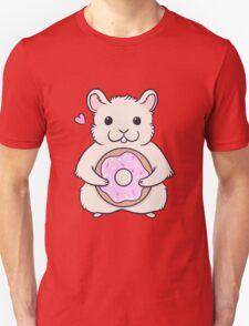 Donut Hamster Unisex T-Shirt