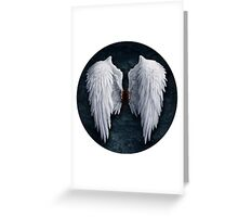 Aion white wings Greeting Card
