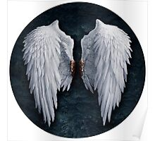 Aion white wings Poster