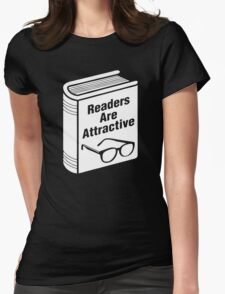 Book Readers Are Attractive Womens Fitted T-Shirt