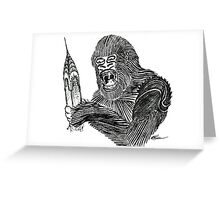 Kong's Revenge Greeting Card