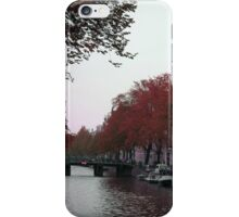 Canal View of Amsterdam iPhone Case/Skin