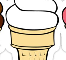I Scream for Ice Cream Sticker