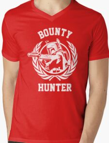 Bounty Hunter Mens V-Neck T-Shirt
