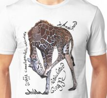 Reticulated Giraffe Unisex T-Shirt