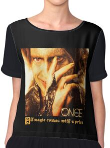 Once upon a time, Rumpelstiltskin, Rumple, OUAT, robert carlisle Women's Chiffon Top