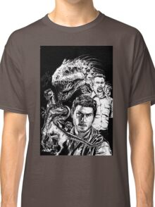 Jurassic World Fanart Classic T-Shirt