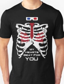 My Hearts Beat For You - 10th Dr T-Shirt