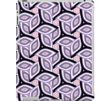 Abstract eyes and patterns iPad Case/Skin
