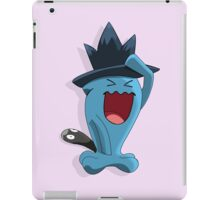 Wobbuffet with Murkrow hat Crossver iPad Case/Skin