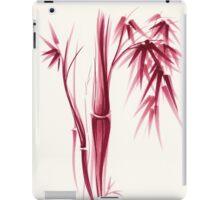 Inspiration - Sumie ink brush zen bamboo painting iPad Case/Skin