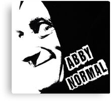 Abby Normal Canvas Print