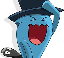 Wobbuffet with Murkrow hat Crossver by BisharpTheRangr