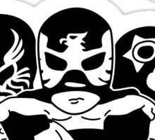 mexican wrestling lucha libre13 Sticker