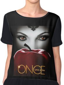 Once Upon a Time, Red Apple, OUAT, Regina, season 2, evil queen Chiffon Top