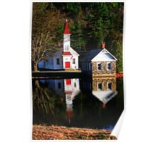 Waterfront Property Poster