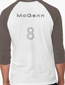 Paul McGann 8th Doctor Jersey Men's Baseball ¾ T-Shirt