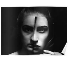 Vanity- Black and White Poster