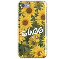 Sugg Sunflowers iPhone Case/Skin